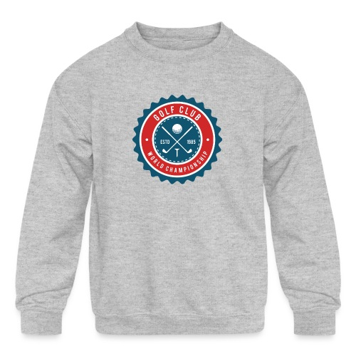 golf club - Kids' Crewneck Sweatshirt