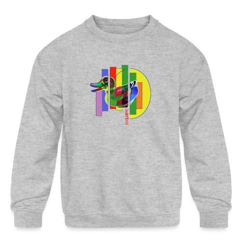 smARTkids - Gutsy Duck - Kids' Crewneck Sweatshirt