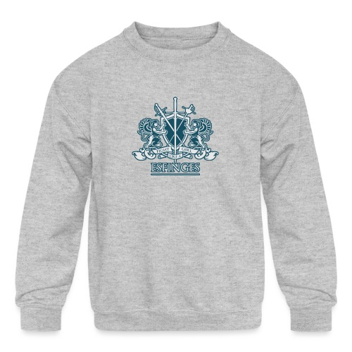 Fight Like a Girl 2 - Kids' Crewneck Sweatshirt