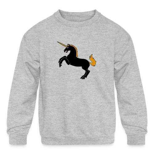 Unicorn - Kids' Crewneck Sweatshirt