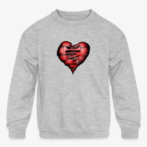 Chains Heart Ceramic Mug - Kids' Crewneck Sweatshirt