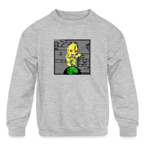 Hollow Earth Woman - Kids' Crewneck Sweatshirt