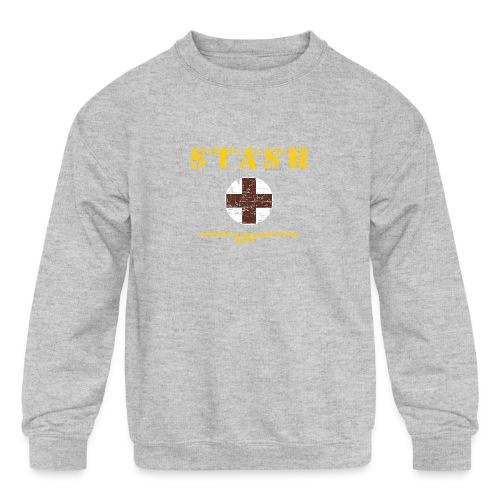 STASH-Final - Kids' Crewneck Sweatshirt