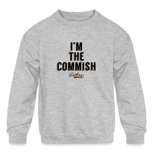 I'm the Commish: Coffee Mug - Kids' Crewneck Sweatshirt