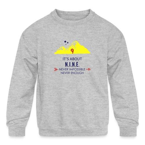 Design Mountain NEW - Kids' Crewneck Sweatshirt