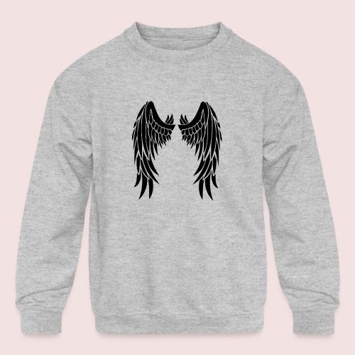 Angel wings - Kids' Crewneck Sweatshirt