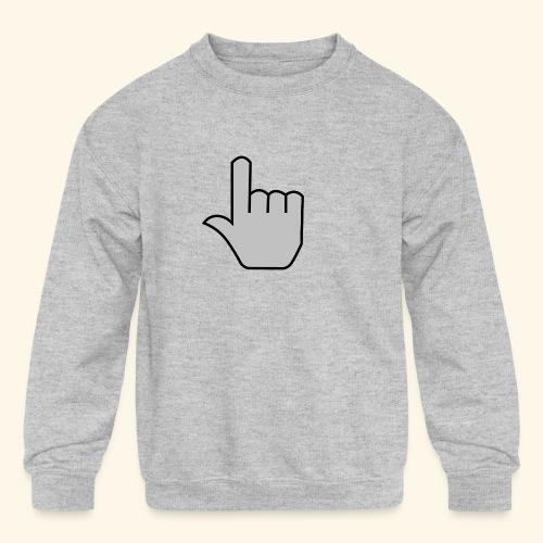 click - Kids' Crewneck Sweatshirt