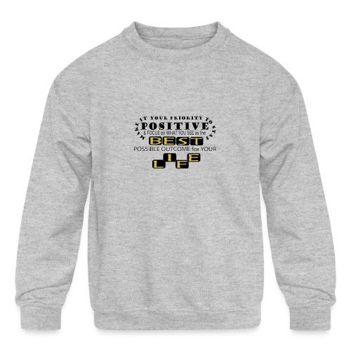 PJeans3 - Kids' Crewneck Sweatshirt