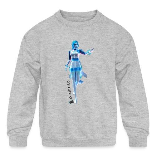 P.A.M.E.L.A. Figure - Kids' Crewneck Sweatshirt