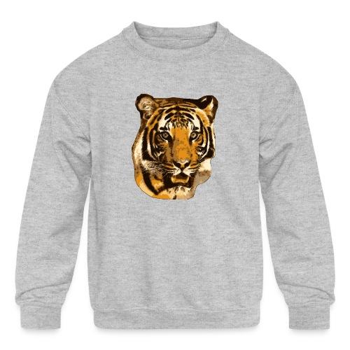 Tiger - Kids' Crewneck Sweatshirt