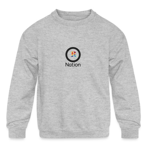 Reaper Nation - Kids' Crewneck Sweatshirt