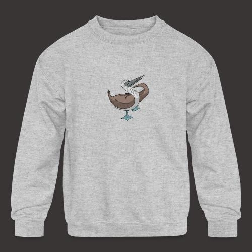 Boobie Bird Mating dance - Kids' Crewneck Sweatshirt