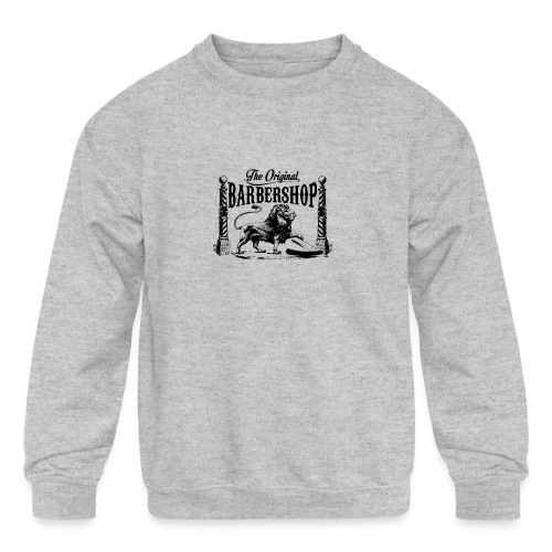 The Original Barbershop - Kids' Crewneck Sweatshirt