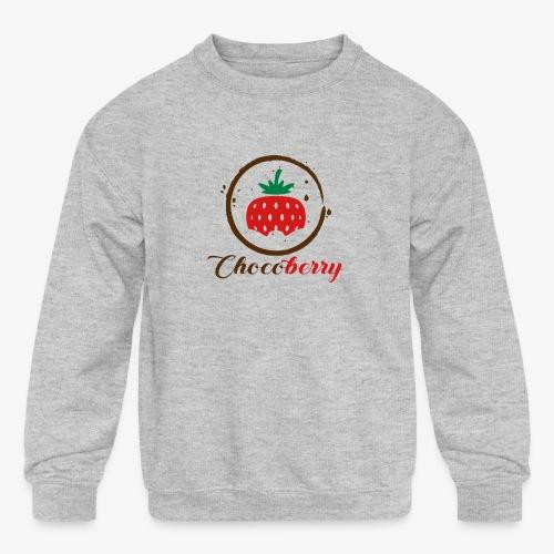 Chocoberry - Kids' Crewneck Sweatshirt