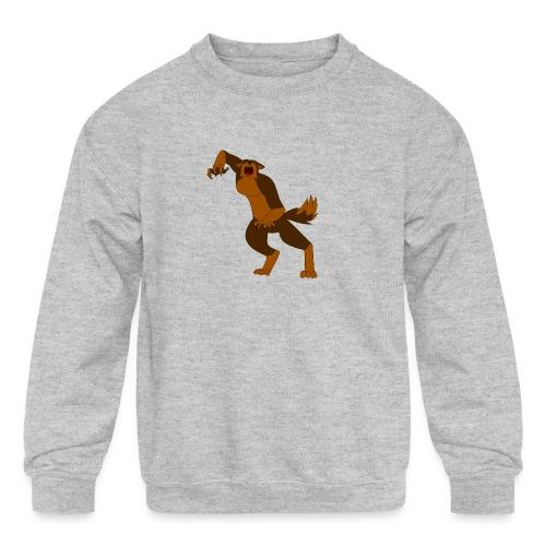 Werewolf Kiba - Kids' Crewneck Sweatshirt