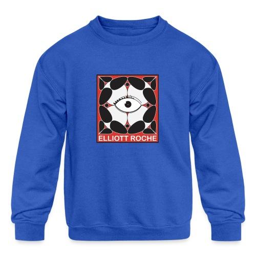 ElliottRedEye - Kids' Crewneck Sweatshirt