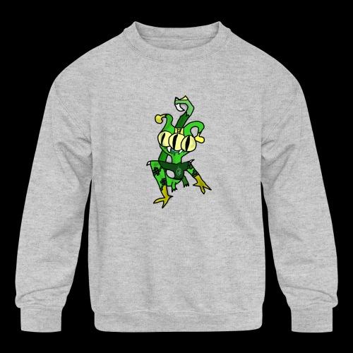 Three-Eyed Alien - Kids' Crewneck Sweatshirt