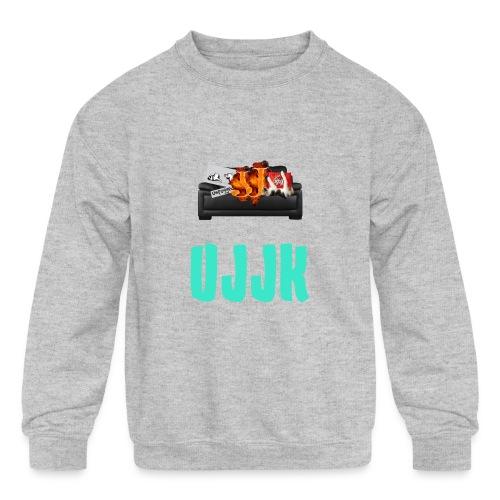 UJJK Merch - Kids' Crewneck Sweatshirt