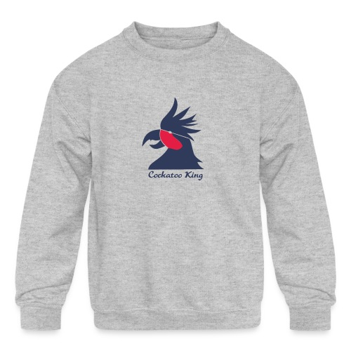 Cockatoo Logo - Kids' Crewneck Sweatshirt