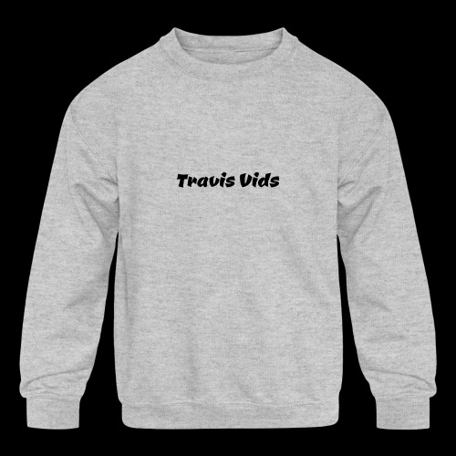 White shirt - Kids' Crewneck Sweatshirt