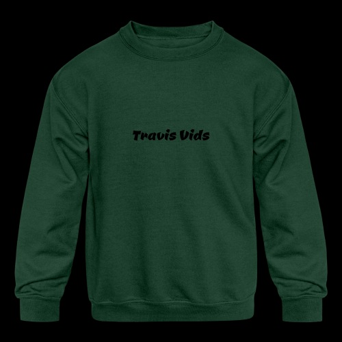 White shirt - Kids' Crewneck Sweatshirt