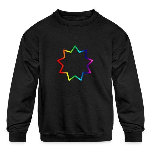 Baha´i rainbow - Kids' Crewneck Sweatshirt