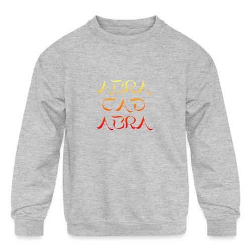 Abracadabra - Kids' Crewneck Sweatshirt