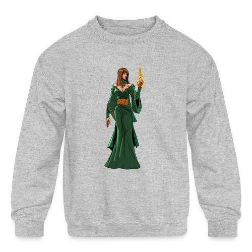 lyssa2 png - Kids' Crewneck Sweatshirt