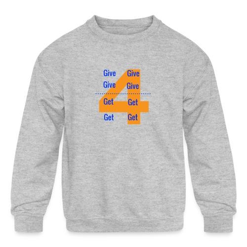 Forgive & Forget - Kids' Crewneck Sweatshirt
