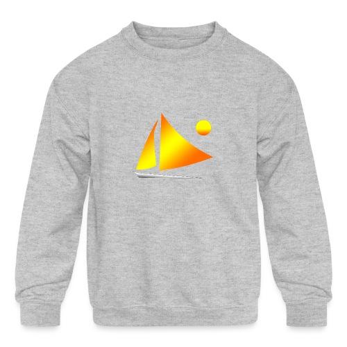 sailing - Kids' Crewneck Sweatshirt