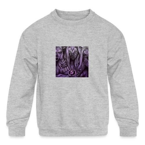 see no hear no - Kids' Crewneck Sweatshirt