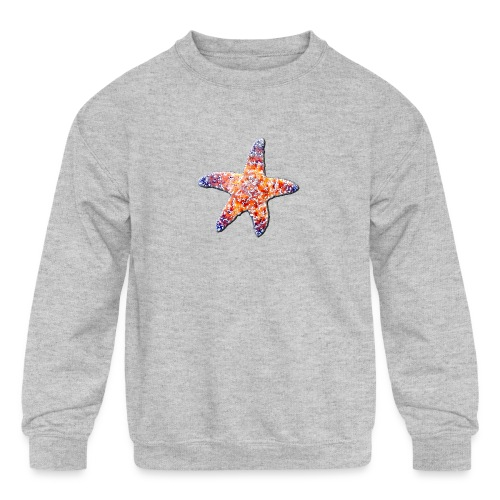 Sea star - Kids' Crewneck Sweatshirt