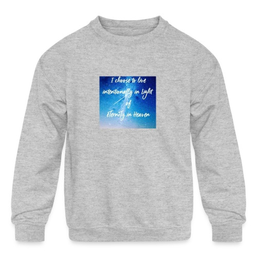 20161206_230919 - Kids' Crewneck Sweatshirt
