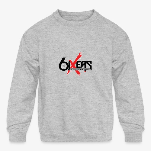 6ixersLogo - Kids' Crewneck Sweatshirt