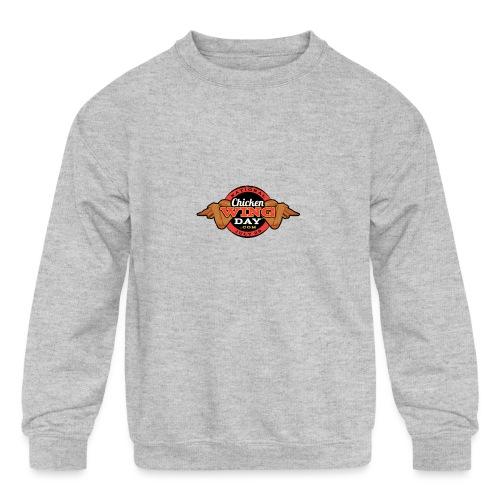 Chicken Wing Day - Kids' Crewneck Sweatshirt
