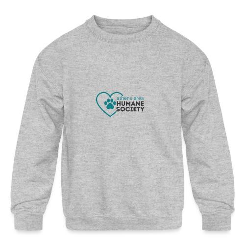 AAHS LOGO - Kids' Crewneck Sweatshirt