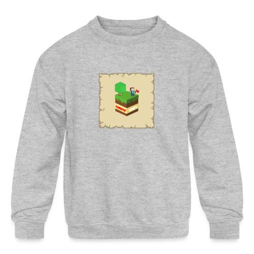 TurkiyeCraft - Kids' Crewneck Sweatshirt