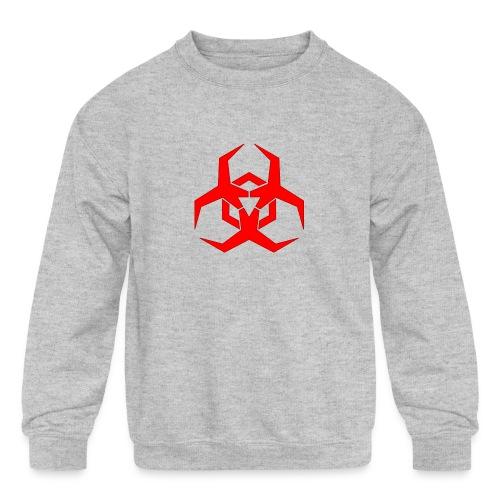 HazardMartyMerch - Kids' Crewneck Sweatshirt