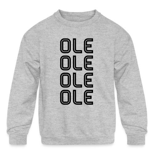 Ole - Kids' Crewneck Sweatshirt