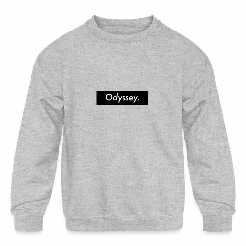 Odyssey life - Kids' Crewneck Sweatshirt