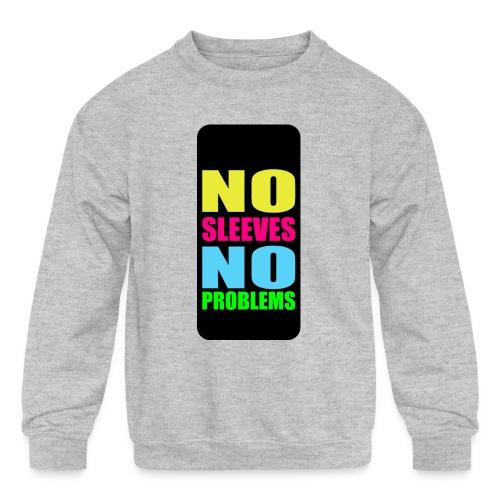 neonnosleevesiphone5 - Kids' Crewneck Sweatshirt