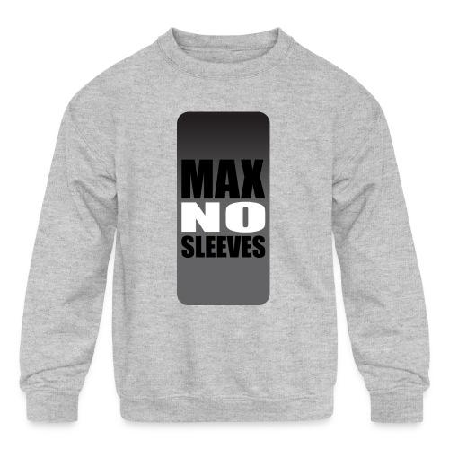 nosleevesgrayiphone5 - Kids' Crewneck Sweatshirt