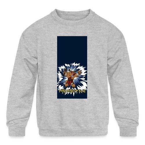 minotaur5 - Kids' Crewneck Sweatshirt