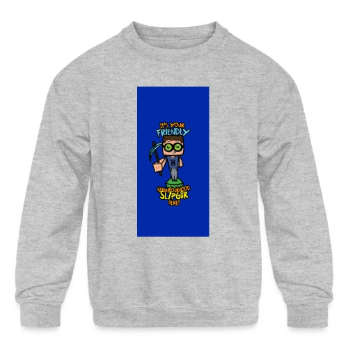 friendly i5 - Kids' Crewneck Sweatshirt