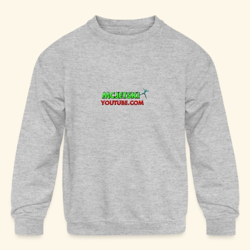 channel - Kids' Crewneck Sweatshirt