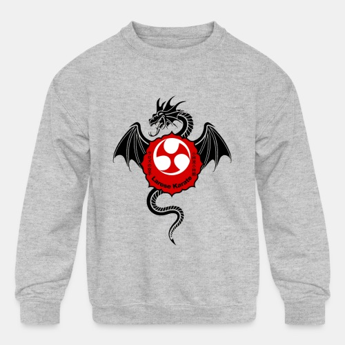 Dragon (B) - Larose Karate - Design Contest 2017 - Kids' Crewneck Sweatshirt