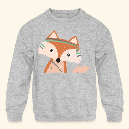 Felix Fox - Kids' Crewneck Sweatshirt