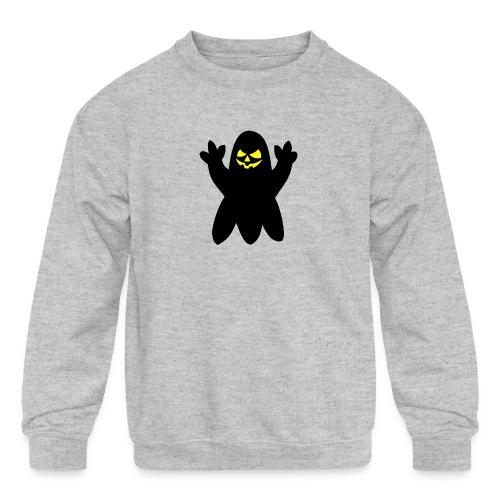 Halloween spook - Kids' Crewneck Sweatshirt