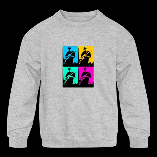 LGBT Support - Kids' Crewneck Sweatshirt