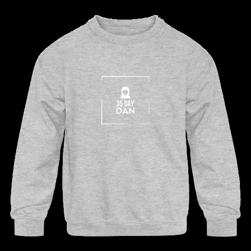 35DD Female - Kids' Crewneck Sweatshirt